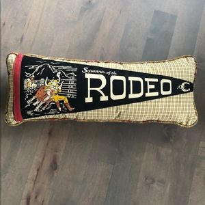 Other - New handcrafted pennant throw pillow